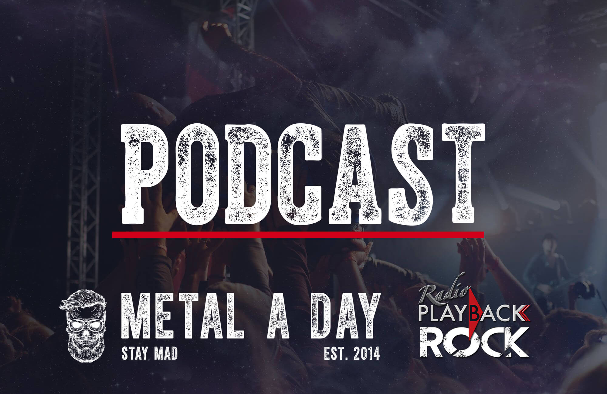 Badass Nr.1 Rock Podcasts med Radio Playback Rock & Metal A Day